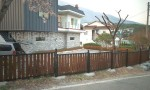 양산 하북 전원주택 울타리