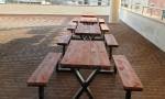 전남 목포 테이블의자 일체형 B형