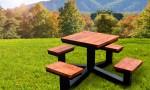 테이블의자일체형A