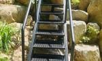 강원도 인제 전원주택 계단